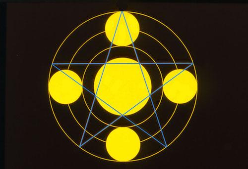 11 Upton Scudamore pentagram